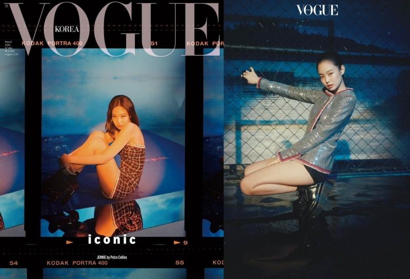 Bìa Vogue danh giá.