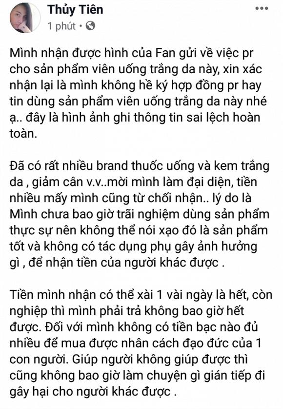 Sao Việt và những lần 'dở khóc dở cười' vì bị lợi dụng hình ảnh quảng cáo 13