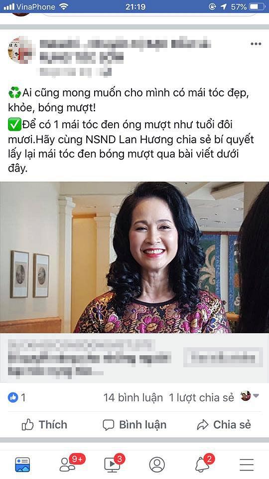 Sao Việt và những lần 'dở khóc dở cười' vì bị lợi dụng hình ảnh quảng cáo 22