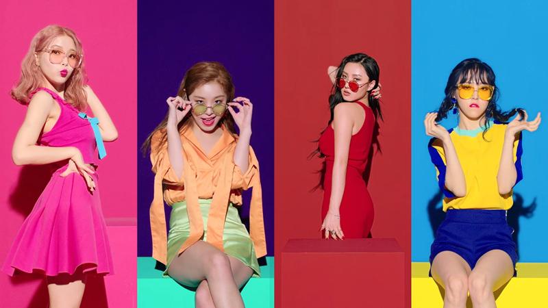 4 cá thể, 4 phong cách riêng biệt, song khi tụ lại một chỗ, họ trở thành những cô gái của tập thể Mamamoo hoàn hảo.