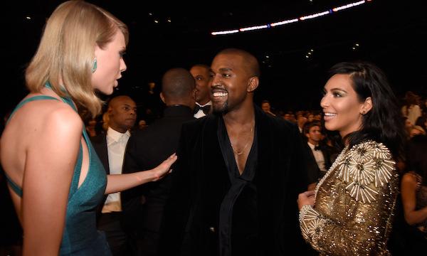 Tưởng như drama đã ngủ yên, mối quan hệ Taylor - Kanye - Kim giờ đây lại tiếp tục 'dậy sóng''.