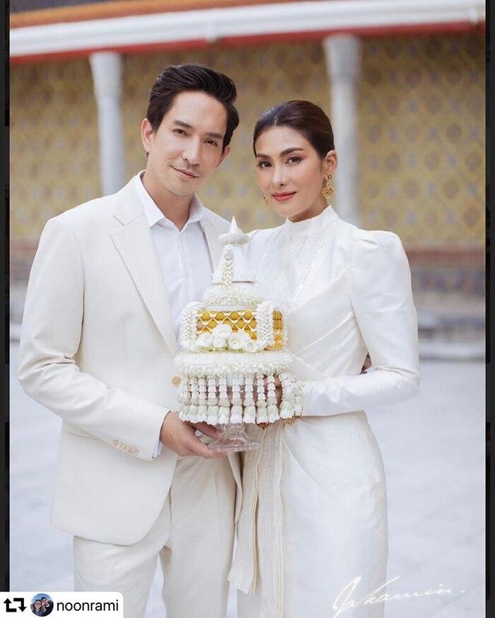 Đám cưới siêu đơn giản giữa mùa dịch COVID 19 của hai diễn viên trong 'Ngược dòng thời gian để yêu anh' 3