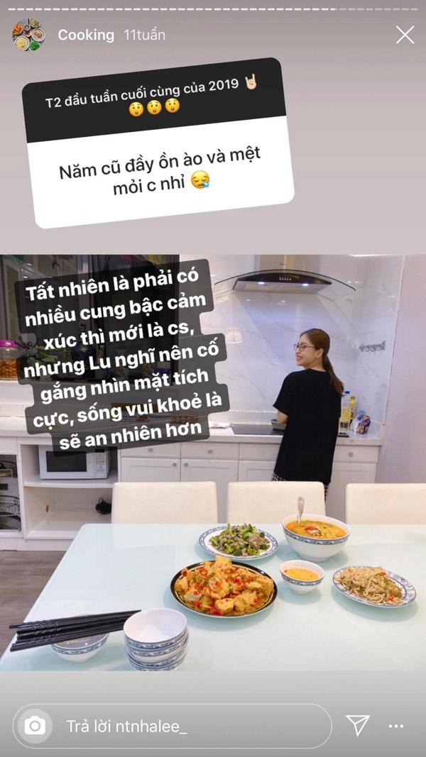 Vừa mới tái hợp với Quang Hải, Nhật Lê lại khoe ảnh mâm cơm tối ở nhà 'tình cũ' Harry Hưng, là sao ta? 1