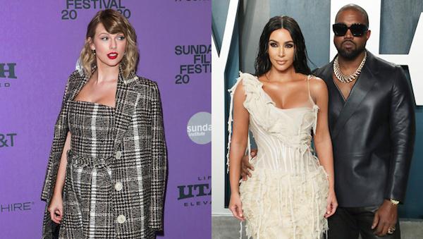 Taylor, Kim, Kanye một lần nữa lại trở thành tâm điểm của thị phi.