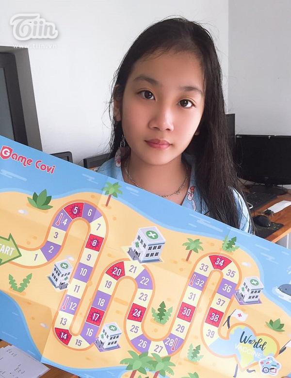Bé Nguyễn Ngọc Minh Thư, 11 tuổi.