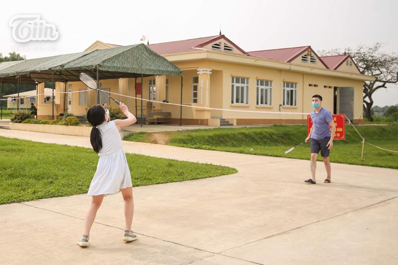 Nhiều hoạt động thể thao được khuyến khích luyện tập.