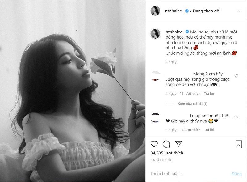 Nhật Lê liên tục đăng ảnh sexy, Quang Hải không buồn 'thả tim', choáng hơn là anh còn bỏ từng chiếc like những bức hình cũ của cô 0