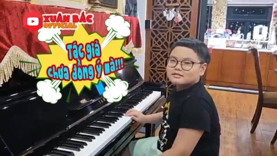 Cậu ấm nhà Xuân Bắc - Bi Béo tiếp tục trổ tài làm thơ, phổ cả nhạc ủng hộ phong trào phòng chống dịch Covid-19 0