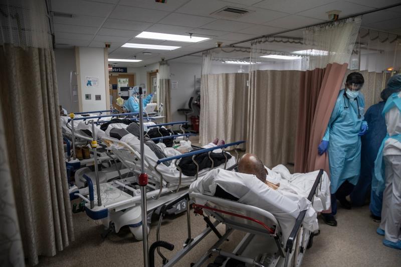 Bệnh viện bị quá tải...