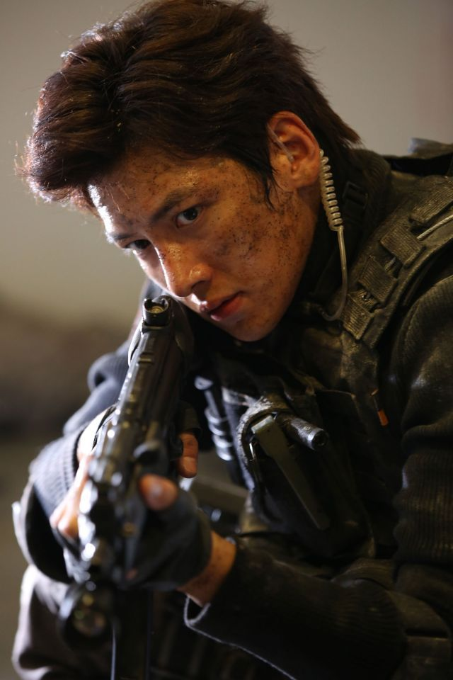 Ji Chang Wook trong Fabricated City.