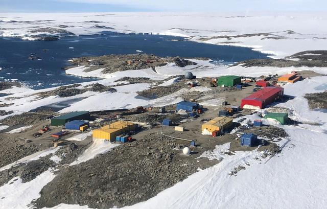 Khí hậu ở Nam Cực rất khắc nghiệt.