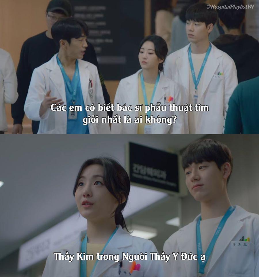 Hospital Playlist: Từ thầy Kim trong 'Người thầy y đức' tới Ji Sung trong 'Trái tim nhân ái' đều được 'triệu hồi' 1