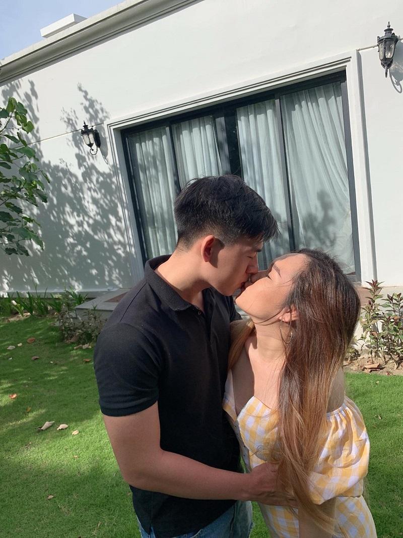 Cặp đôi đã từng có khoảng thời gian yêu xa trước khi Hải Thương đi du học