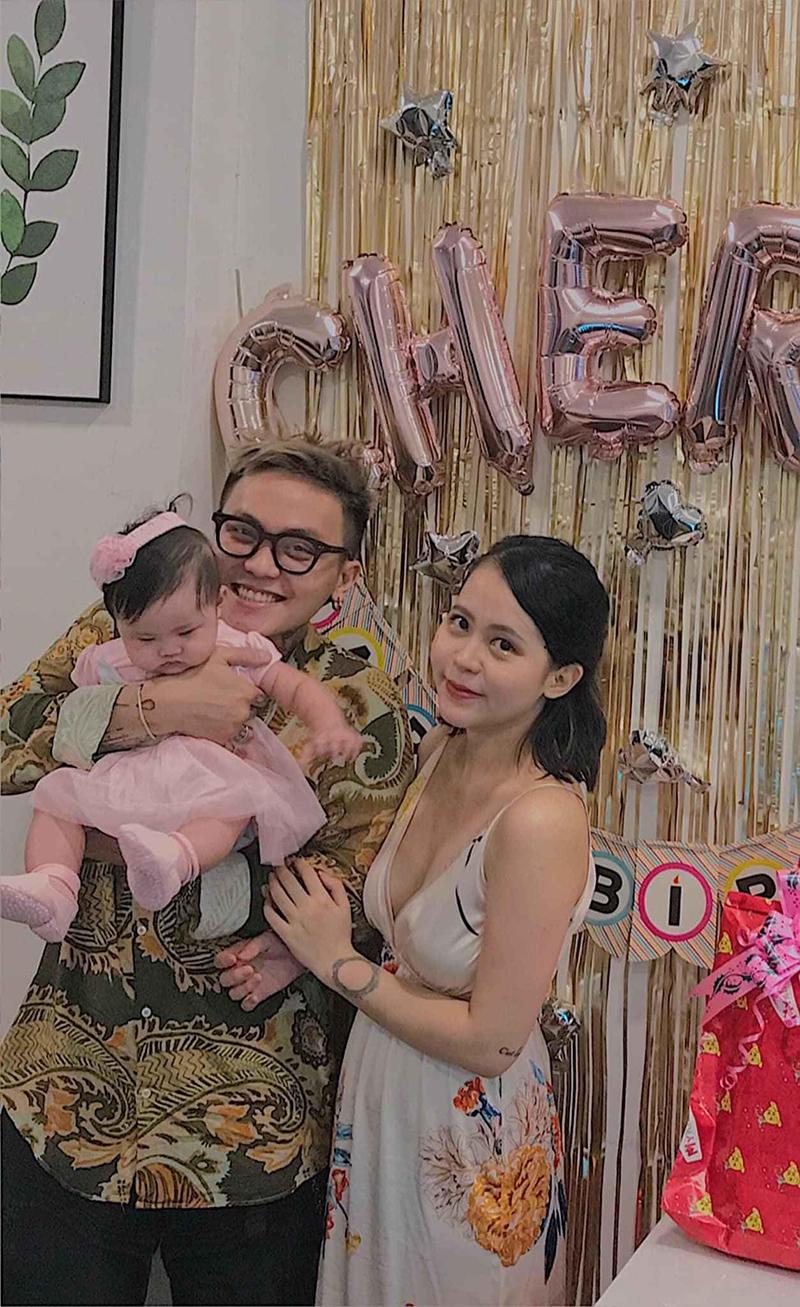 Gia đình nhỏ của Lan Hương và Gia Bảo