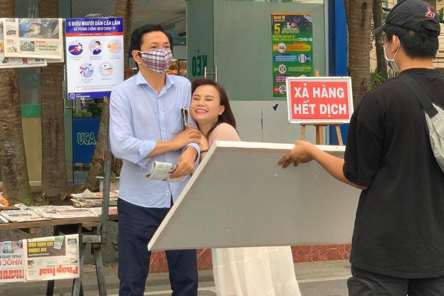 Hình ảnh côXuyến do diễn viên Hoàng Yến trong Những ngày không quên.