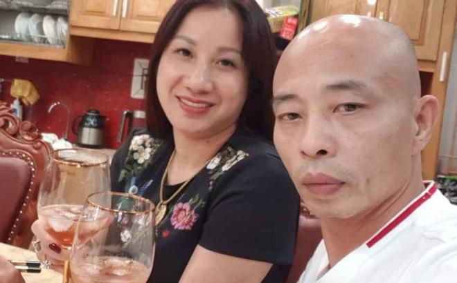 Vợ chồng nữ đại gia Đường Dương.
