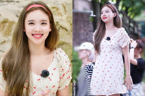 Những quả cherry nhỏ xinh đã quá đỗi duyên dáng, ngọt ngào, vì vậy khi áp dụng cùngbí quyết riêng của mình, cô gái nhà JYP đã thực sự 'đốn tim' người hâm mộ.