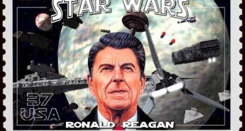 Tổng thống Mỹ R. Reagan phát động 'Chiến tranh giữa các vì sao'