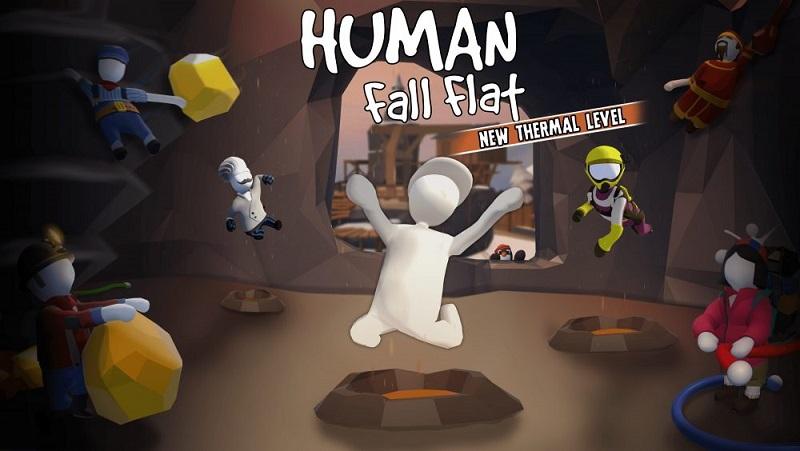 Human Fall Flat - tựa game phiêu lưu đầy 'tấu hài'.