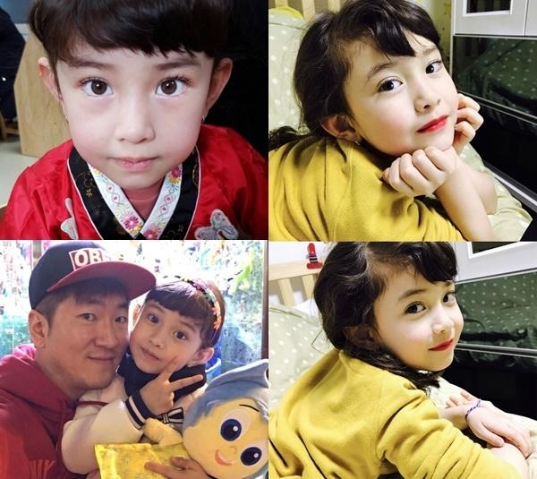 Các em của Somi cũng xinh xắn như chị, cho thấy gene di truyền visual của gia đình.