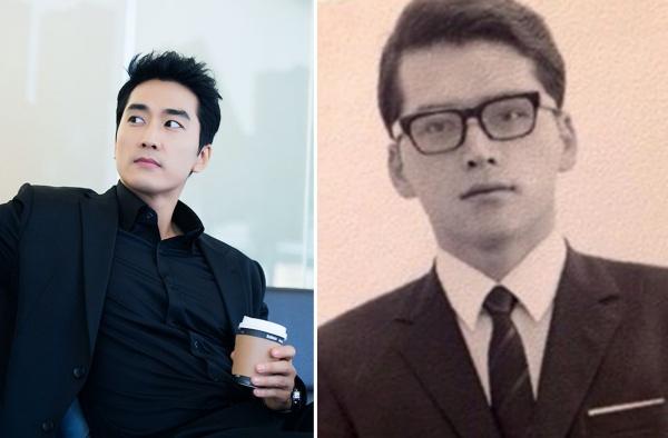 'Đẳng cấp' nhất là ảnh thời trẻ của bố Song Seung Hun không hề thua kém nam minh tinh nào nổi tiếng hiện nay. Khi so kè ảnh cũ của bố Song Seung Hun và anh bây giờ, Knet phải cảm thán hình như Song Seung Hun có chút thua kém.