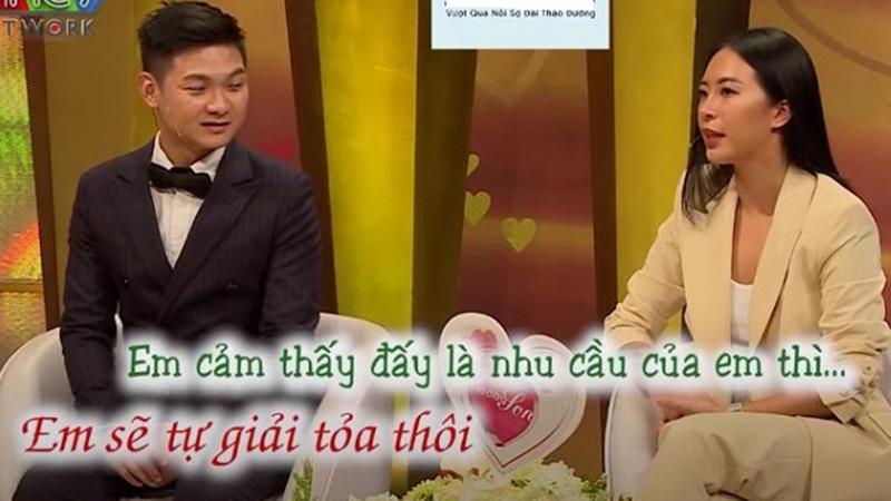 Hana Giang Anh thẳng thắn chia sẻ chuyện nhu cầu 'chuyện ấy' của mình cao hơn của chồng trên sóng truyền hình