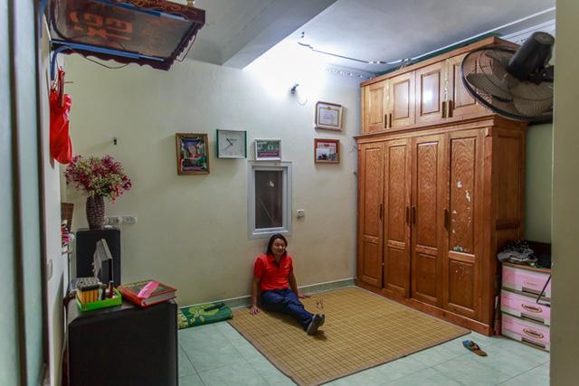 Căn nhà cũ đơn sơ của nghệ sĩ Danh Thái từng sống với vợ và hai con