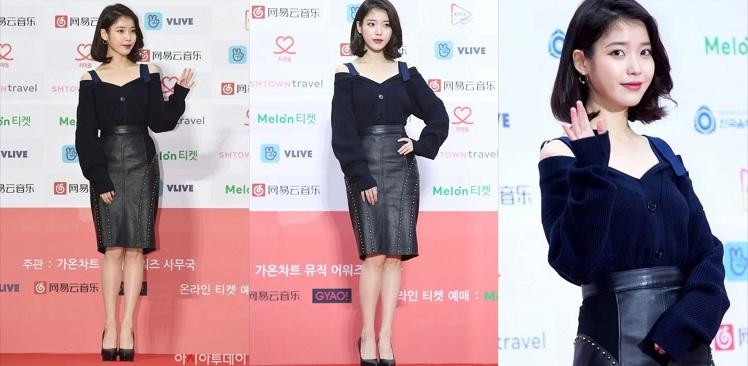 Ai bảo áo sweater chỉ đơn điệu, không thể sáng tạo thành những thiết kế, kiểu dáng theo xu hướng, kiều nữ xứ Hàn sẽ chứng minh điều đó. Mặc dù sở hữu gương mặt với các đường nét nhỏ nhắn, nhưng khi khoác lên mình cây đen tuyền sang chảnh, 'em gái quốc dân' vẫn trở thành một trong những biểu tượng thời trang bởi vẻ đẹp sang trọng mà nó đem lại.