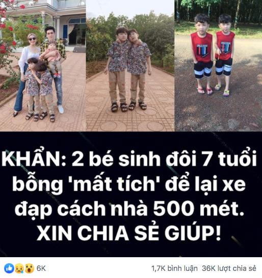 Vụ 2 bé trai sinh đôi mất tích bí ẩn khi chơi trước nhà ở Bình Phước: Cộng đồng mạng dậy sóng 2