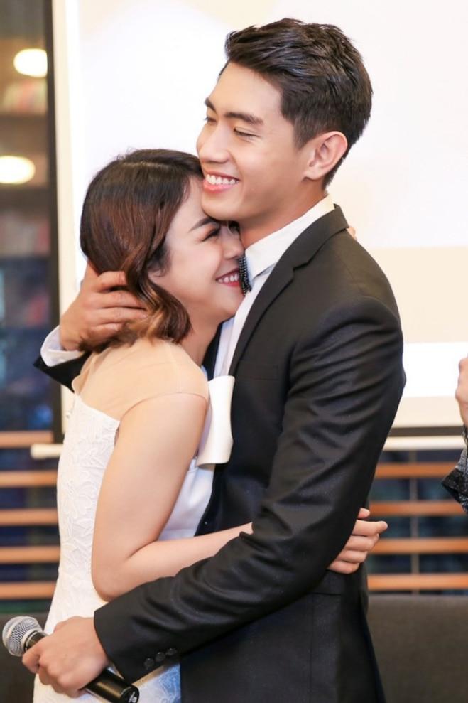 Cặp đôi Thái Trinh - Quang Đăng từng được rất nhiều người yêu thích