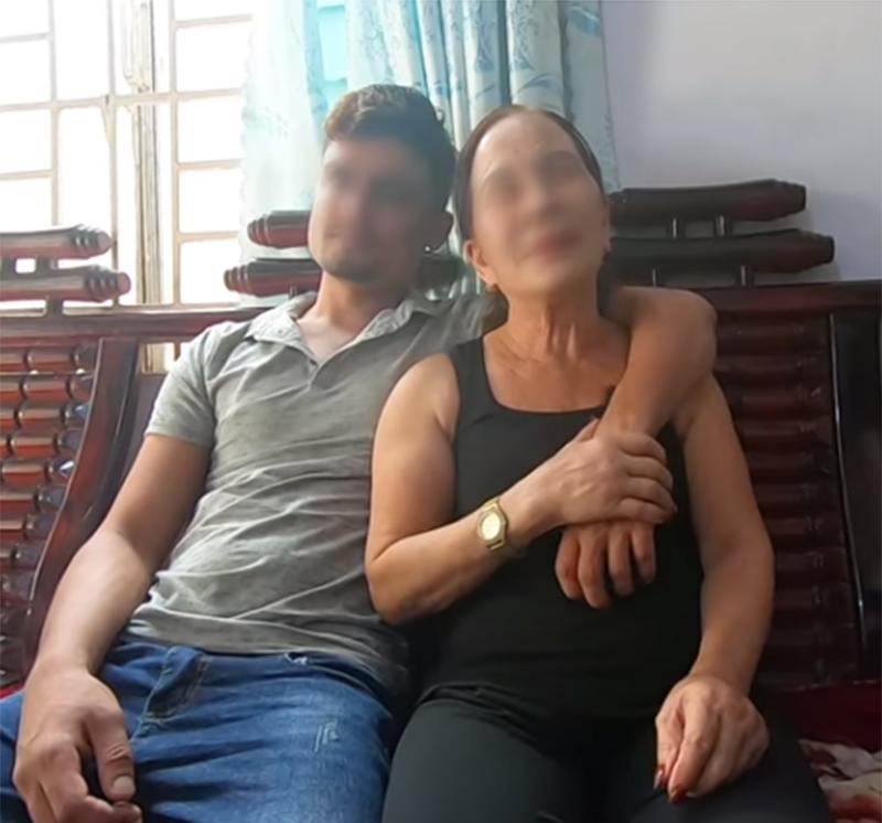 Đôi vợ chồng chênh nhau đến 41 tuổi đang kiến MXH dậy sóng