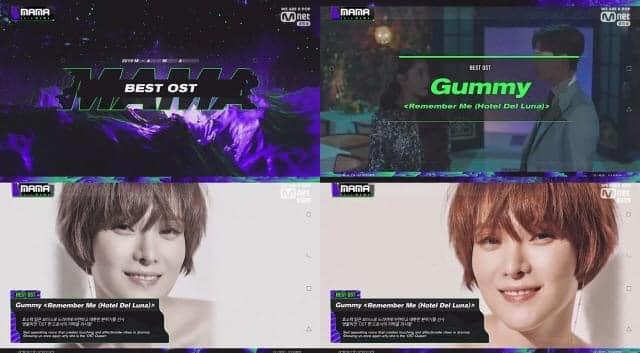Gummy có nguy cơ 'vuột mất' cúp OST cuối năm vào tay chồng Cho Jung Seok 'hay hát hát hay' 0
