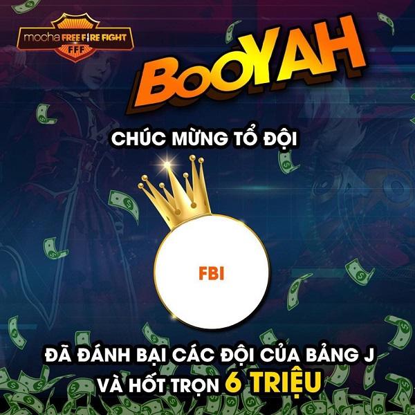 Mocha FFF: Thay phiên nhau giành top 1, cục diện Bảng J là cuộc so kè giữa FBI và Đại Tướng Quân 0
