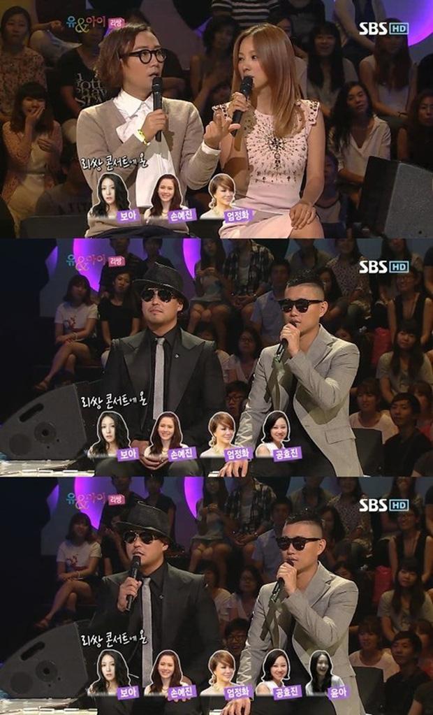 MC Jung Jae Hyun từngtiết lộ bắt gặp hội chị em bạn dì có cả Son Ye Jintại concert nhóm nhạc của Gary ở Seoul.