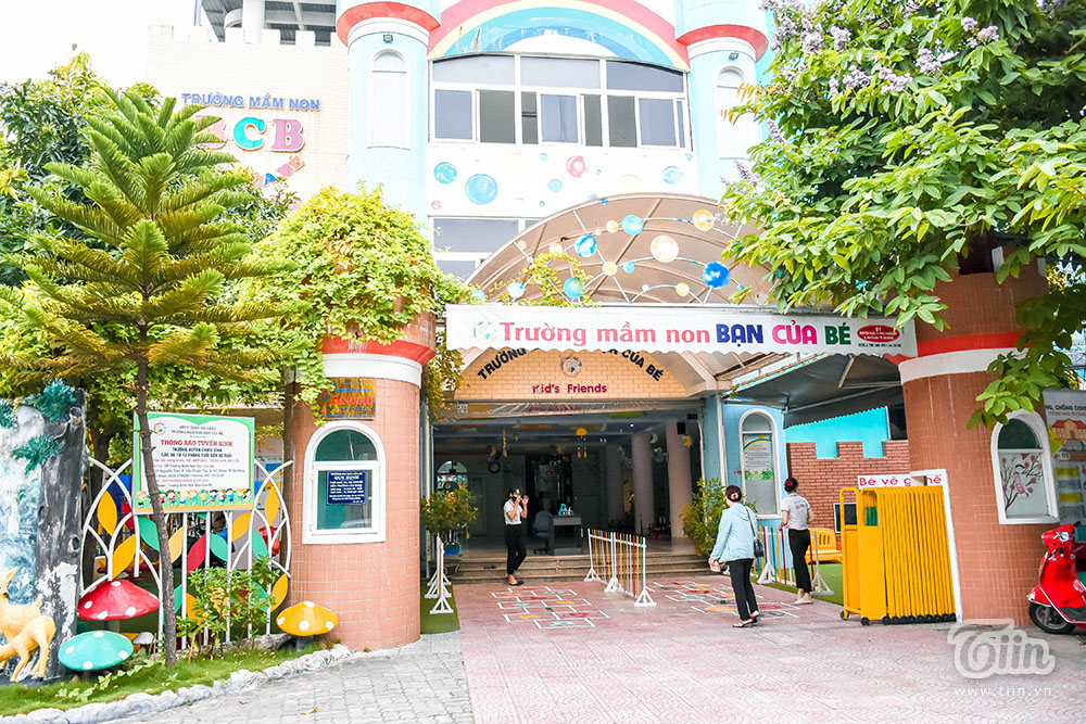 Các trường mầm non ở Đà Nẵng sôi động trong ngày đầu đón trẻ trở lại lớp