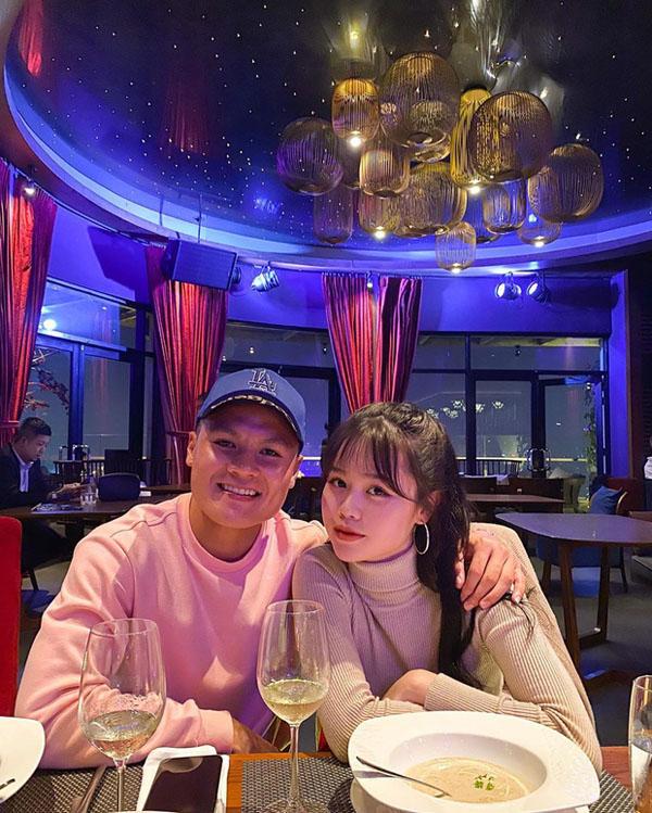 Huỳnh Anh - Bạn gái mới công khai của Quang Hải là ai, gia thế 'khủng' thế nào? 0