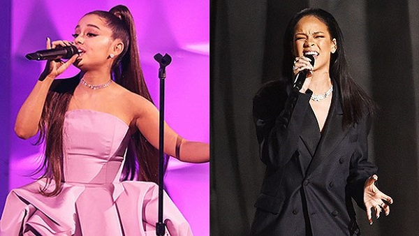 Cũng giống như cộng đồng người yêu nhạc, Ariana Grande đang chờ đợi R9 của Rihanna.