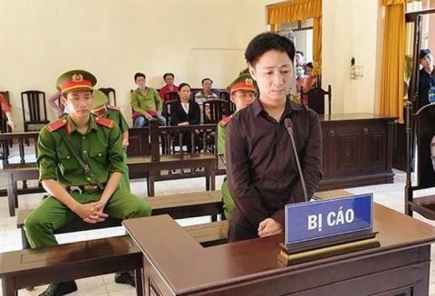 Bị cáo Trần Văn Năng tại tòa