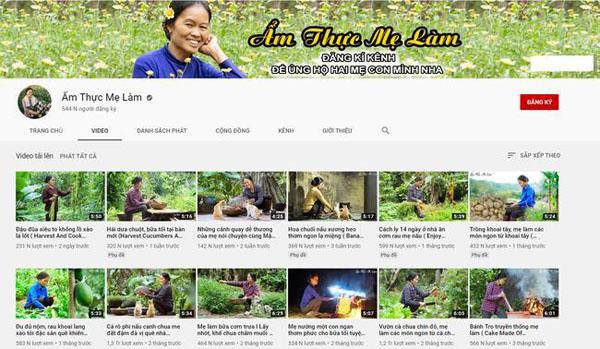 Chủ nhân kênh 'Ẩm thực mẹ làm' xúc động khi được Youtube giới thiệu tới cộng đồng quốc tế: Hữu xạ tự nhiên hương 1