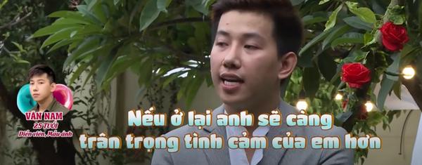 Trong một show truyền hình khác Nam Phạm chia sẻ bản thân đã có người yêu