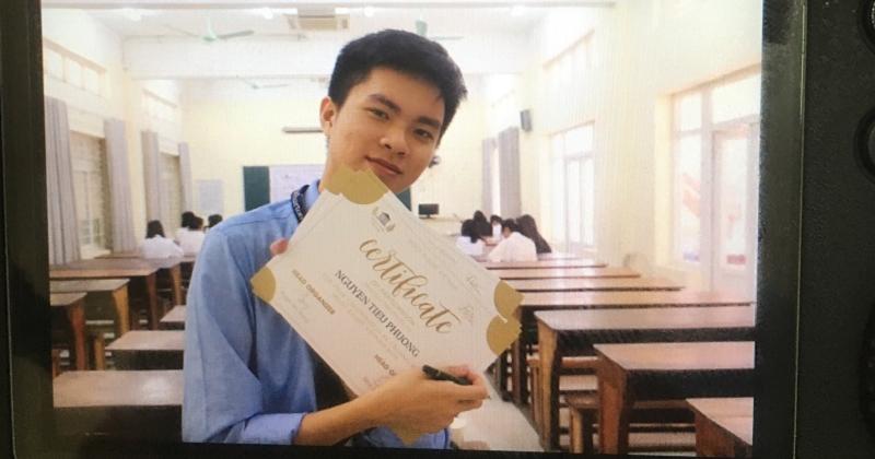 Nguyễn An Trọng- cựu học sinh lớp 12 THPT Hùng Thắng