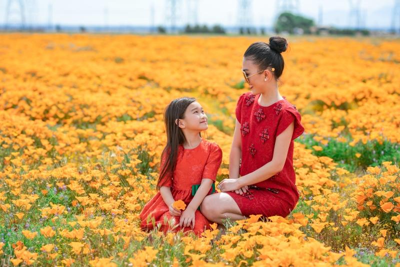 Hiện tại, mong muốn lớn nhất của fashionista Hằng Châu là được trở về nước vì visa du lịch sắp hết hạn và con gái chưa được đến trường.