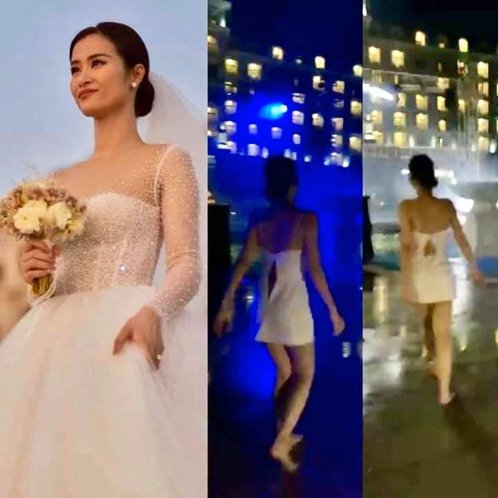Nhân vật chính - cô dâu Đông Nhi