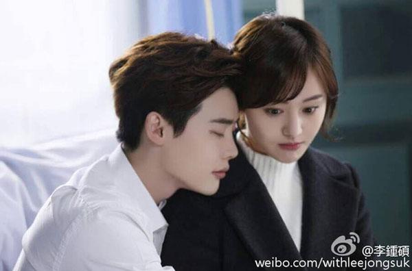 Phim của Trịnh Sảng - Lee Jong Suk mãi chưa được chiếu.