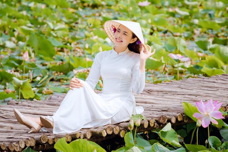 Hồ sen ở Ninh Bình