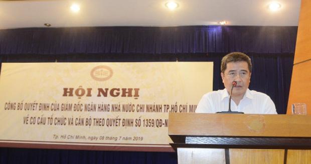 Ông Tô Duy Lâm hiện đang làGiám đốc Ngân hàng Nhà nước chi nhánh TP.HCM