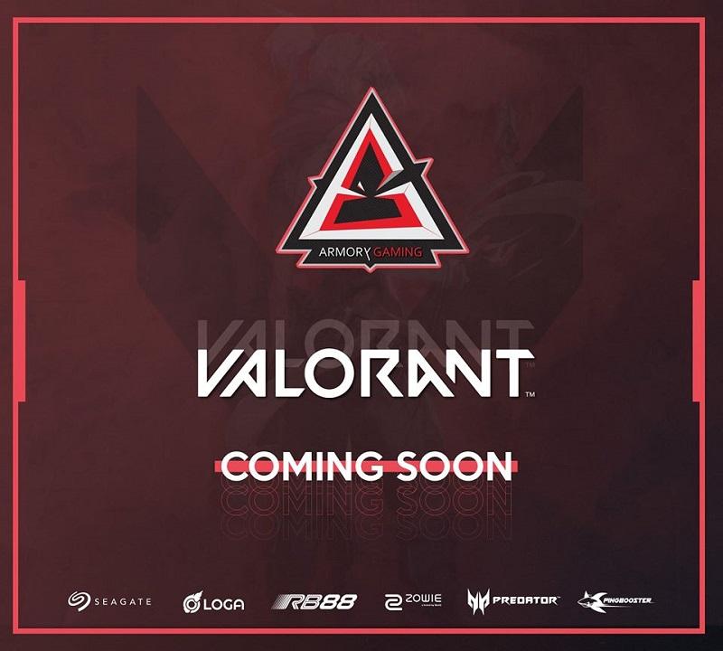 Armory Gaming dự kiến sẽ lấn sân sang Valorant trong thời gian tới.