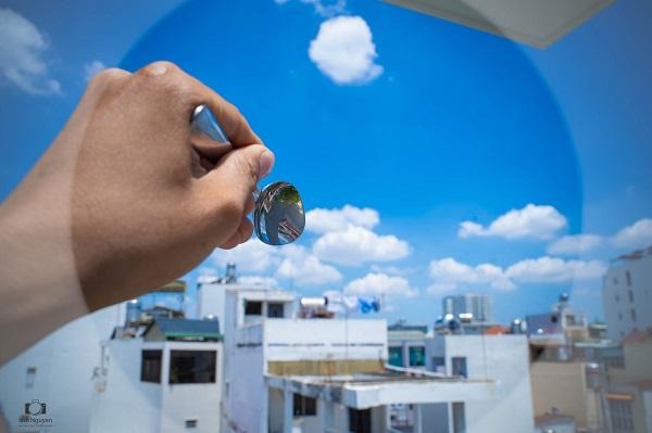 'Bữa tiệc đám mây' độc đáo trên bầu trời Sài Gòn khiến dân mạng thích thú 3