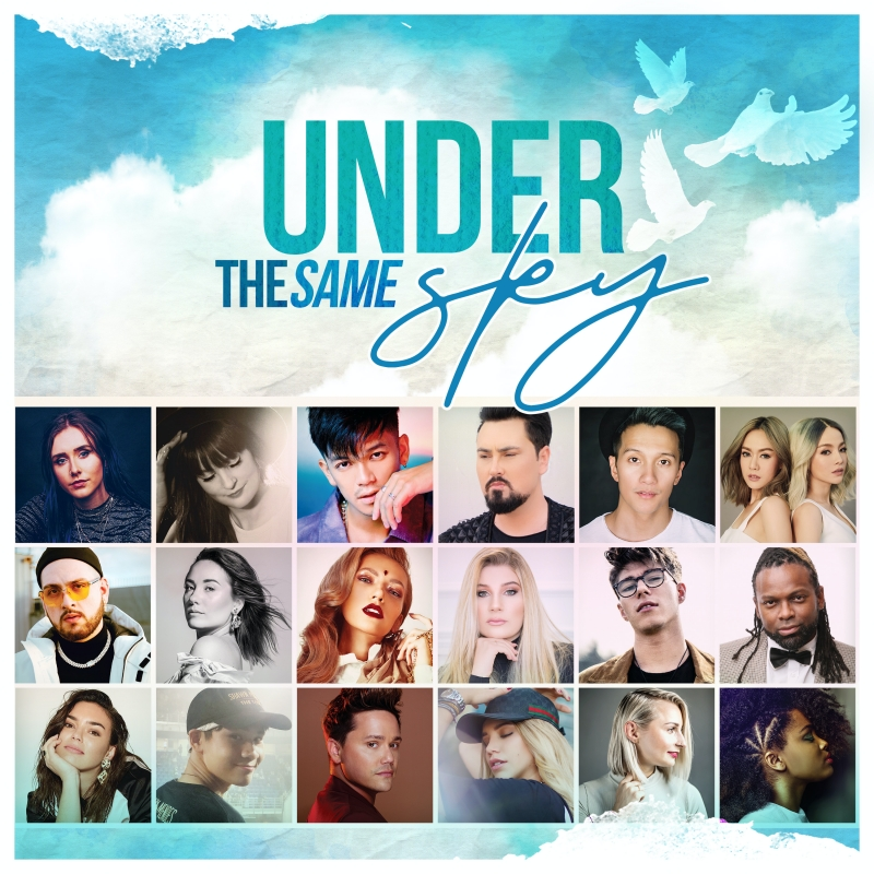 Với Under The Same Sky, Trọng Hiếu đã thành công khi tập hợp được nhiều nghệ sĩ với nhiều cá tính và phong cách âm nhạc khác nhau trên thế giới trong một dự án âm nhạc.