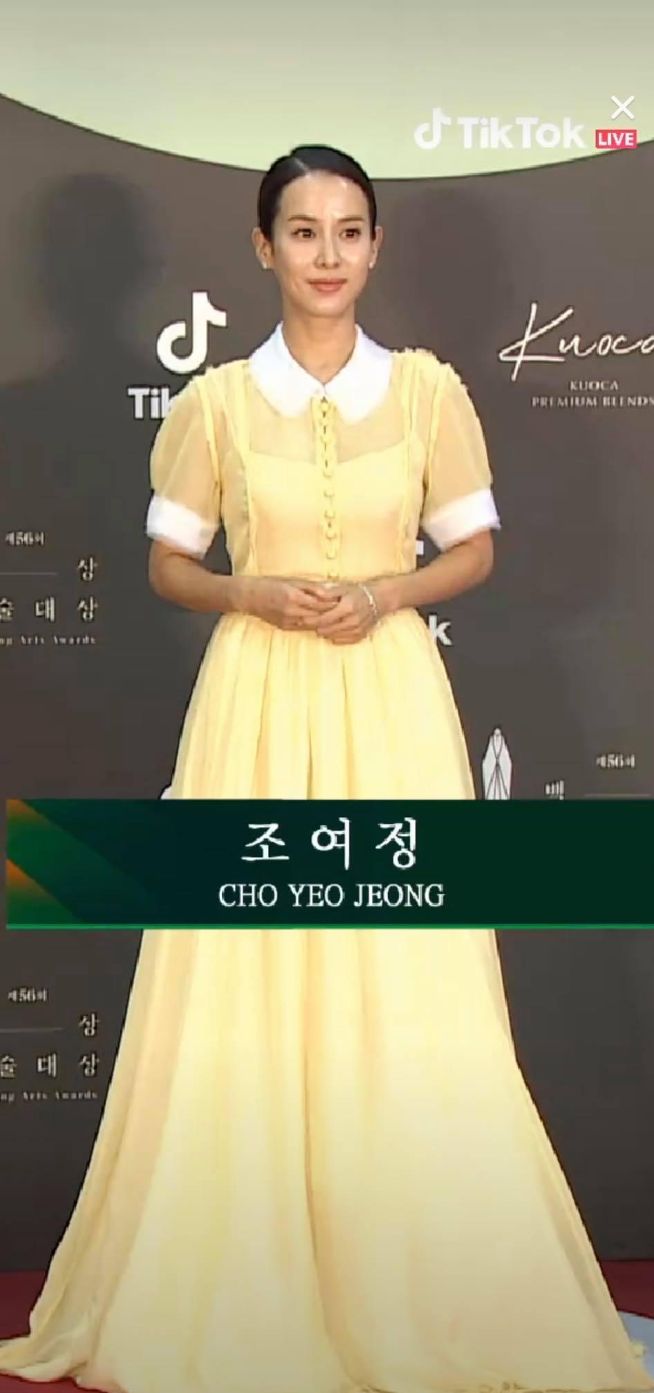 Thảm đỏ Baeksang Arts Awards 2020: 'Chị đại Triều Tiên' Seo Ji Hye chiếm spotlight với váy trắng lấp lánh, Kwon Nara diện váy hồng 'sến sẩm' 2